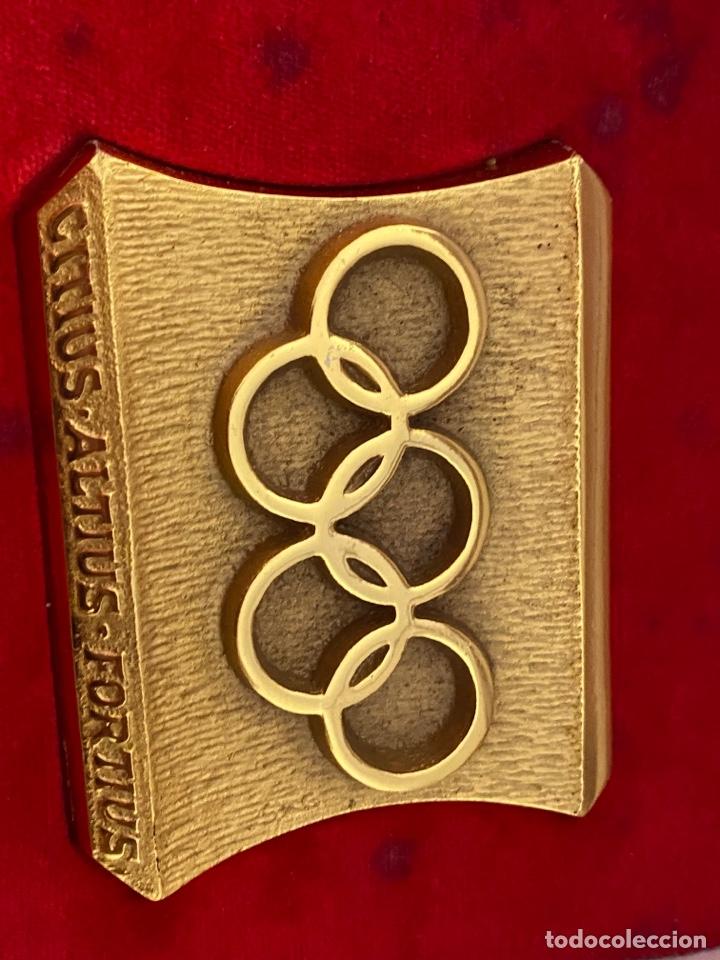 Coleccionismo deportivo: Auténtica medalla participación olímpica Citius, Altius, Fortius bretoni milano . Ver fotos - Foto 5 - 287020783