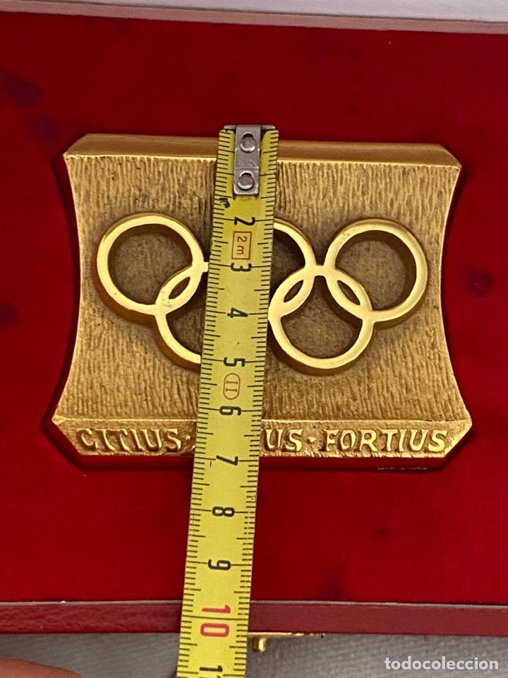 Coleccionismo deportivo: Auténtica medalla participación olímpica Citius, Altius, Fortius bretoni milano . Ver fotos - Foto 8 - 287020783