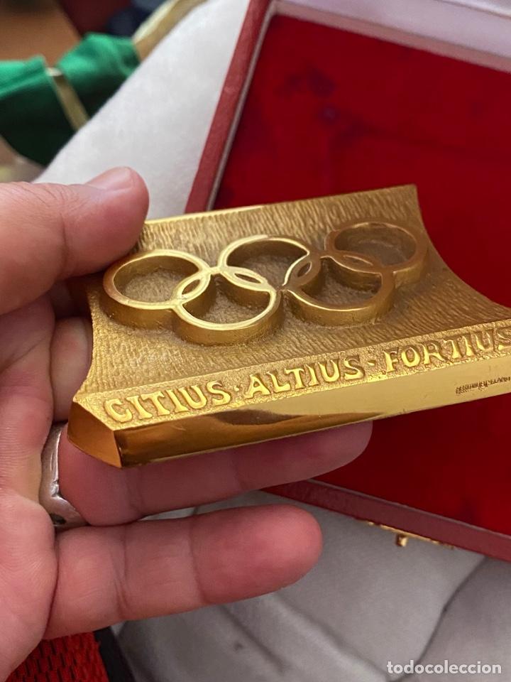 Coleccionismo deportivo: Auténtica medalla participación olímpica Citius, Altius, Fortius bretoni milano . Ver fotos - Foto 9 - 287020783