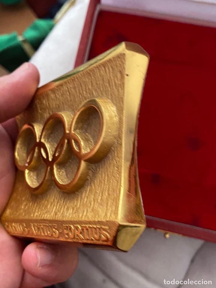 Coleccionismo deportivo: Auténtica medalla participación olímpica Citius, Altius, Fortius bretoni milano . Ver fotos - Foto 10 - 287020783