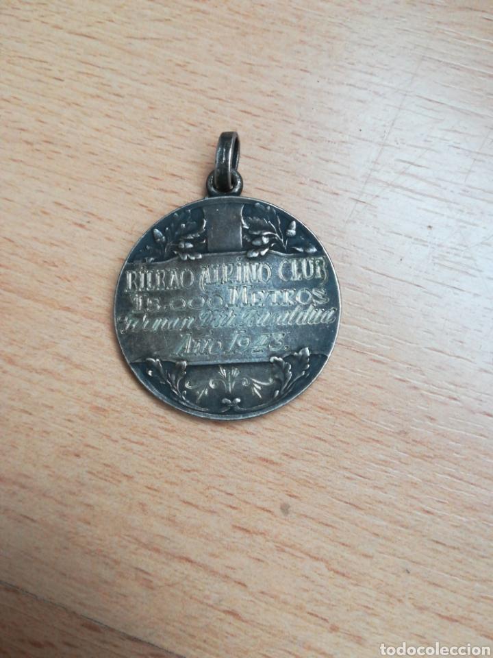 Coleccionismo deportivo: Medalla BILBAO ALPINO CLUB. Año 1943. - Foto 2 - 287876188