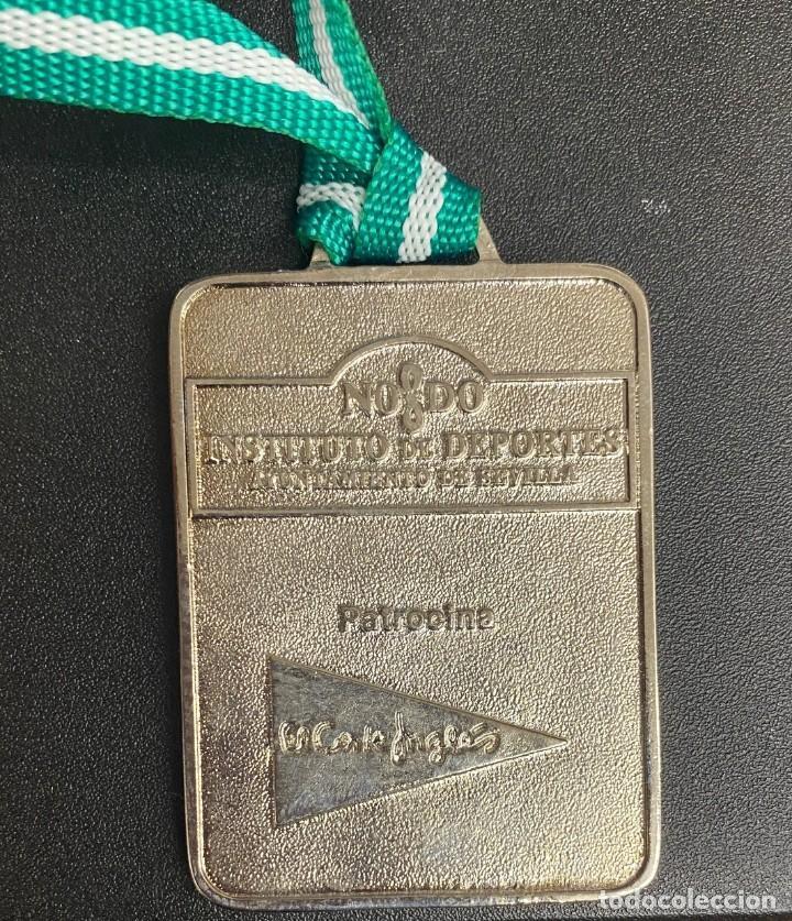 Coleccionismo deportivo: MEDALLA DEPORTIVA 9ª CARRERA NOCTURNA GUADALQUIVIR. AÑO 1997 MEDALLA-742 - Foto 2 - 287942613
