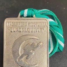 Coleccionismo deportivo: MEDALLA DEPORTIVA 11ª CARRERA NOCTURNA GUADALQUIVIR. AÑO 1999 MEDALLA-743. Lote 287943583