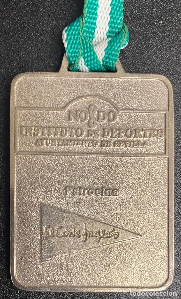 Coleccionismo deportivo: MEDALLA DEPORTIVA 11ª CARRERA NOCTURNA GUADALQUIVIR. AÑO 1999 MEDALLA-743 - Foto 2 - 287943583