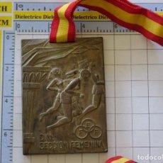 Coleccionismo deportivo: MEDALLA MEDALLÓN DEPORTIVO. SECCIÓN FEMENINA BALONMANO FEMENINO. AÑO 1974. 110GR. Lote 288634583