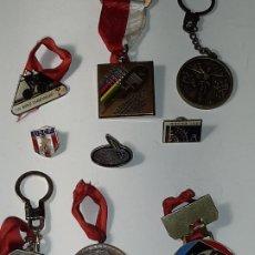 Coleccionismo deportivo: MEDALLAS PIN LLAVEROS AÑOS 80 CICLISMO (CAMPEONATOS DEL MUNDO). Lote 296594593