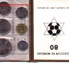 Coleccionismo deportivo: 3-67. CARTERITA MONEDAS 1980. Lote 4944785
