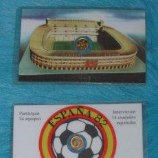 Coleccionismo deportivo: MINI-MONEDA DE 100 PTAS. DE JUAN CARLOS I PLASTIFICADA- MUNDIAL DE FUTBOL ESPAÑA 82. Lote 26556776