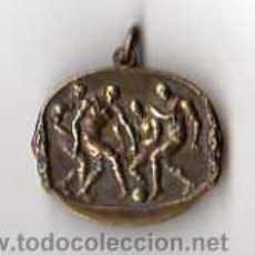 Coleccionismo deportivo: MEDALLA DE FUTBOL, FECHADA 1948 - MEDALLA DE COBRE. Lote 16208418