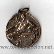 Coleccionismo deportivo: MEDALLA DE COBRE - FUTBOL , FECHADA 1949. Lote 16208419
