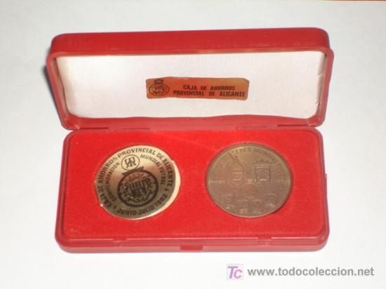 CAJA DE AHORROS PROVINCIAL DE ALICANTE MONEDA CONMEMORACIÓN MUNDIAL FUTBOL JUNIO / JULIO 1982 (Coleccionismo Deportivo - Medallas, Monedas y Trofeos de Fútbol)