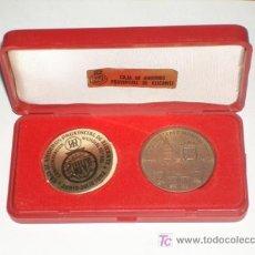 Coleccionismo deportivo: CAJA DE AHORROS PROVINCIAL DE ALICANTE MONEDA CONMEMORACIÓN MUNDIAL FUTBOL JUNIO / JULIO 1982. Lote 26603525