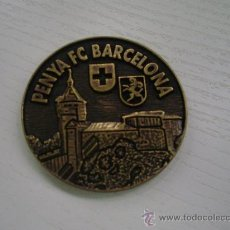 Coleccionismo deportivo: MEDALLA CONMEMORATIVA PENYA FUTBOL CLUB BARCELONA - TROBADA MUNDIAL DE PENYES BARCELONISTES - 1.997. Lote 27734740