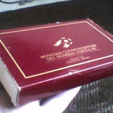 Coleccionismo deportivo: ESTUCHE DE MONEDAS MUNDIAL 82 ALEMANIA - BRASIL MONEDA DIFICIL . Lote 30538066