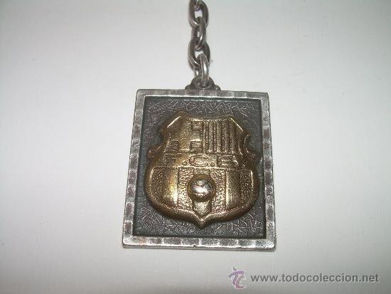 Coleccionismo deportivo: LLAVERO DEL ...F.C. BARCELONA......DE PLATA Y PLATA DORADA. - Foto 2 - 31544049