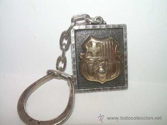 Coleccionismo deportivo: LLAVERO DEL ...F.C. BARCELONA......DE PLATA Y PLATA DORADA. - Foto 6 - 31544049