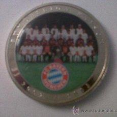 Coleccionismo deportivo: MEDALLA FC BAYERN MÜNCHEN-BUNDESLIGA SAISON 2002/2003- 5 CMTS DIAMETRO. Lote 32097998
