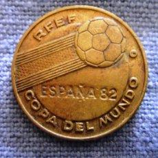 Coleccionismo deportivo: MONEDA CONMEMORATIVA MUNDIAL ESPAÑA 82 ITALIA *DANONE. Lote 32495651