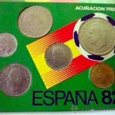 Coleccionismo deportivo: MONEDAS CONMEMORATIVAS COPA MUNDIAL ESPAÑA 82. FIFA.. Lote 33293774