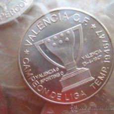 Coleccionismo deportivo: 8 MONEDAS SUELTAS DEL VALENCIA C.F., DISTINTAS VER RELACION DE FECHAS. Lote 34644026