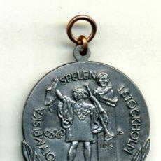 Coleccionismo deportivo: OLIMPIADAS 1912 ESTOCOLMO (REPLICA). Lote 35524448
