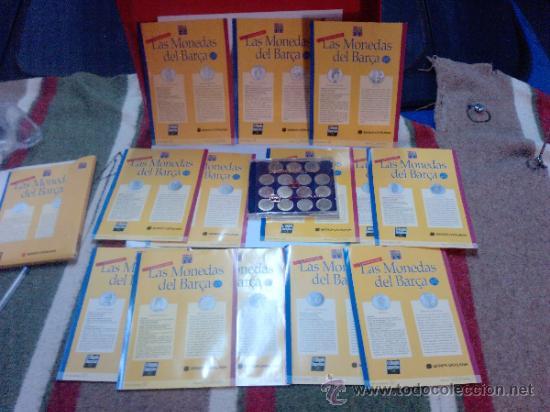 LAS MONEDAS DEL BARCA-PERSONAJES Y SIMBOLOS DE UN SIGLO DE HISTORIA 1996 -PLATA DE LEY (Coleccionismo Deportivo - Medallas, Monedas y Trofeos de Fútbol)