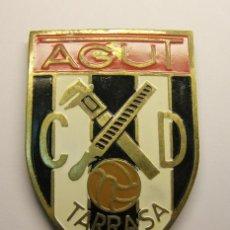 Coleccionismo deportivo: PLACA CLUB DEPORTIVO TARRASA. AGUT.. Lote 37712722