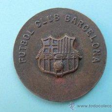 Coleccionismo deportivo: RARA MEDALLA DEL F.C.BARCELONA. Lote 37909707