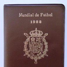 Coleccionismo deportivo: MONEDAS DEL MUNDIAL FUTBOL 1982. ESTRELLA 80. SERIE NUMISMATICA DE SEIS MONEDAS SIN CIRCULAR.. Lote 38307723