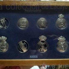 Coleccionismo deportivo: ESCUDOS DEL REAL MADRID. Lote 38310848