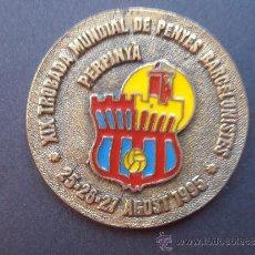 Coleccionismo deportivo: XIX TROBADA DE PEÑAS BARCELONISTAS DE PERPIINYA DE 1.995. Lote 38412525