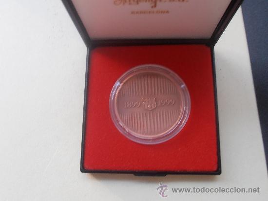 Coleccionismo deportivo: Medalla del centenario del F.C.Barcelona - Foto 4 - 38630172