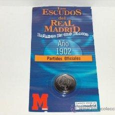 Coleccionismo deportivo: ESCUDO DEL REAL MADRID EN EL AÑO 1902.. Lote 39287235