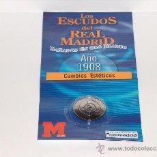 Coleccionismo deportivo: ESCUDO DEL REAL MADRID EN EL AÑO 1908.. Lote 39287256
