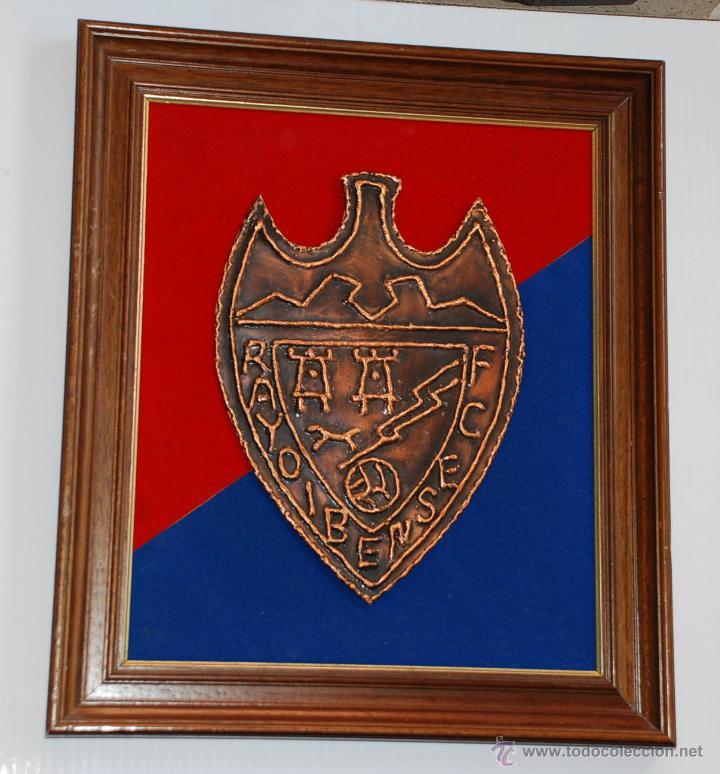 escudo artesanal metalico rayo ibense c. f. enm - Comprar Medallas ...