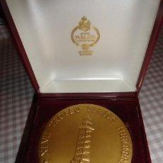 Coleccionismo deportivo: MEDALLA EN CAJA TROFEO TERESA HERRERA CORUÑA XLVIII ANVERSO CONMEMORACION1492-1992. Lote 40851153