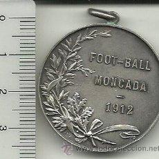 Coleccionismo deportivo: (F-720)MEDALLA FOOT-BALL MONCADA AÑO 1912. Lote 40927416