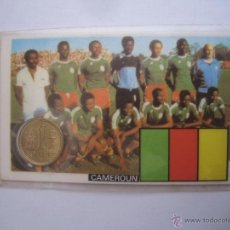Coleccionismo deportivo: 1 MONEDA OFICIAL CONMEMORATIVA MUNDIAL FUTBOL ESPAÑA 82 EQUIPO CAMERUN. Lote 41245007