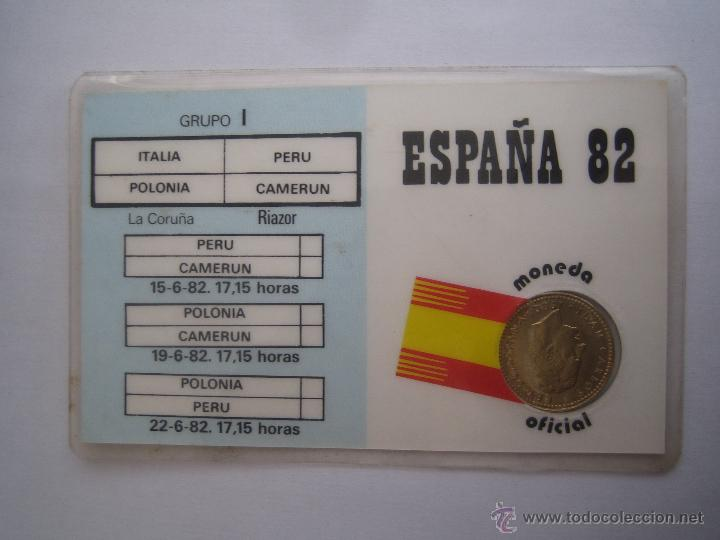 Coleccionismo deportivo: 1 moneda oficial conmemorativa mundial futbol españa 82 equipo camerun - Foto 2 - 41245007