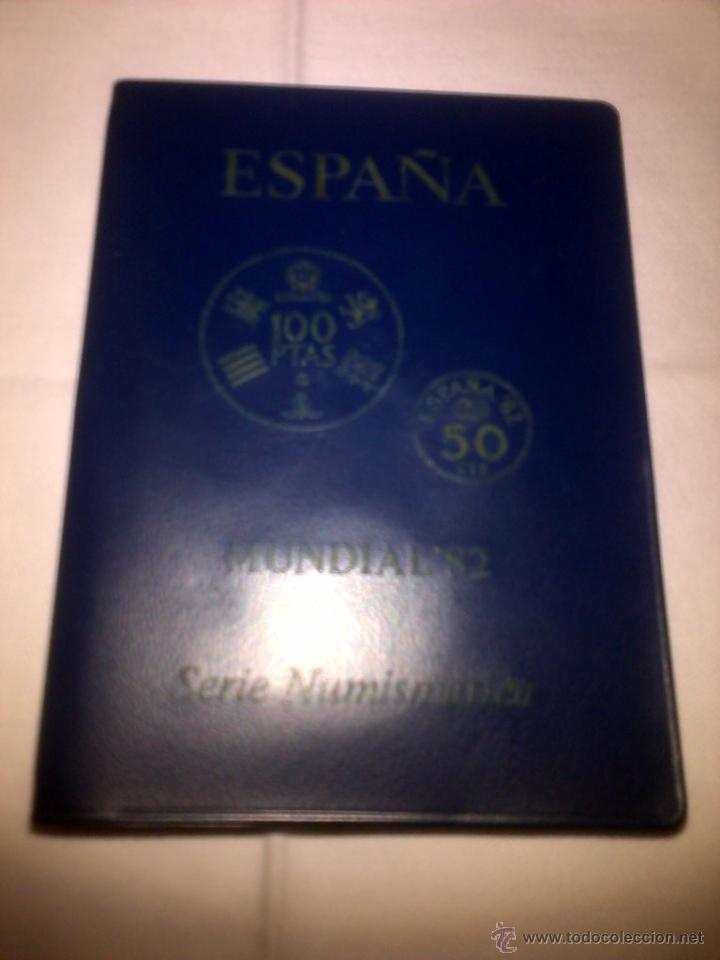 MONEDAS CONMEMORATIVAS DEL MUNDIAL DE FUTBOL ESPAÑA'82 - ESTRELLA 80 (Coleccionismo Deportivo - Medallas, Monedas y Trofeos de Fútbol)