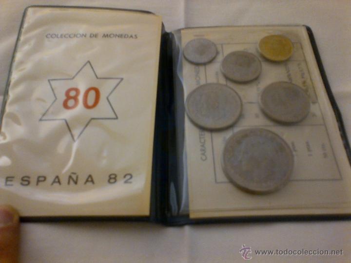 Coleccionismo deportivo: MONEDAS CONMEMORATIVAS DEL MUNDIAL DE FUTBOL ESPAÑA'82 - ESTRELLA 80 - Foto 3 - 41369218