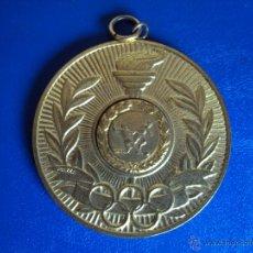 Coleccionismo deportivo: (F-989)MEDALLA A ROMARIO VASCO DE GAMA,02-08-87,HOMENAGE LBV,. Lote 42500820