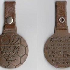 Coleccionismo deportivo: ALEMANIA 1974 CAMPEONATO MUNDIAL DE FUTBOL. MEDALLA ALEMANA.. Lote 43572388