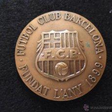 Coleccionismo deportivo: ANTIGUA MEDALLA FUTBOL CLUB FC BARCELONA F.C BARÇA CF COMPROMISSARI AÑO 1991. Lote 43992215