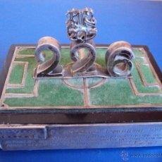 Coleccionismo deportivo: (F-1033)TROFEO DE PLATA DE LA VENTA DEL CAMPO DE LA CORTS AL DIRECTIVO DN.ANTONIO TAMBURINI TOUS. Lote 45684942