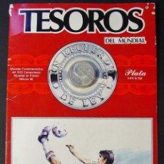 Sammelleidenschaft Sport - MONEDA EN PLATA CONMEMORATIVA DEL MUNDIAL DE MÉXICO 1986. - 46249656