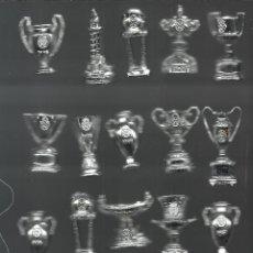 Coleccionismo deportivo: COLECCION DE TROFEOS EN MINIATURA DEL REAL MADRID CLUB DE FUTBOL. Lote 47558917