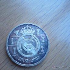 Coleccionismo deportivo: MONEDA DEL CENTENARIO DEL REAL MADRID. NUEVA.. Lote 47988590