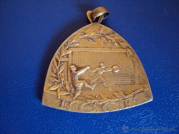 (F-0582)MEDALLA DE PLATA DORADA CAMPIONAT DE CATALUNYA DE FOOT-BALL 1919-20,GROP B,2 NS.EQUIPS,1ER.P (Coleccionismo Deportivo - Medallas, Monedas y Trofeos de Fútbol)