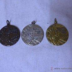 Coleccionismo deportivo: LOTE DE 3 MEDALLA DE OLIMPIADAS MOSCU 1980, CATEGORIA BRONCE, PLATA Y ORO. Lote 49866634